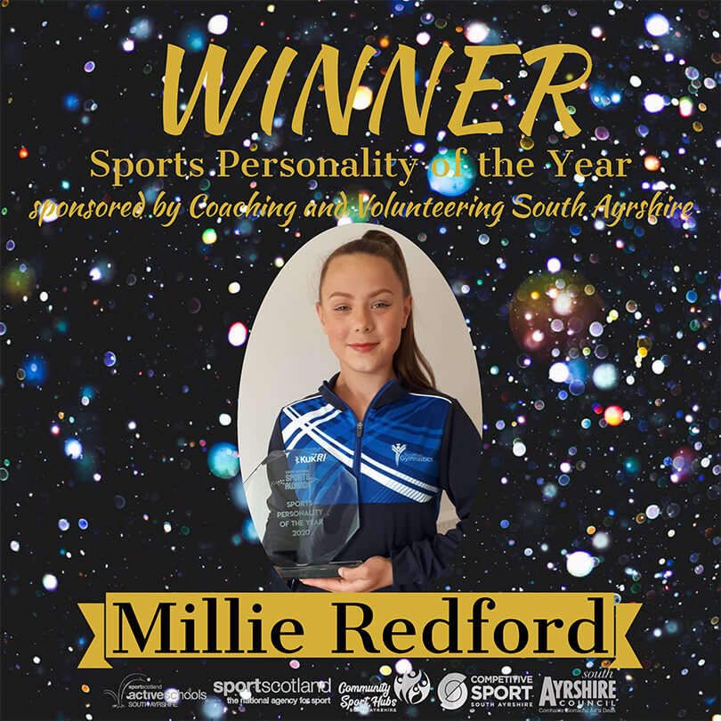 Sports Award Winner 2020 Millie Redford