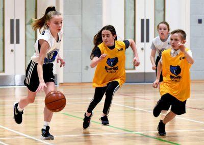 Basketball mixed game